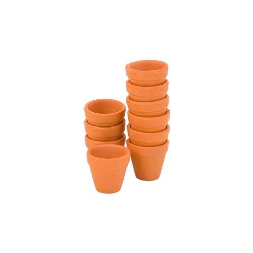 Playbox Terracotta-Töpfe, 10 Stück
