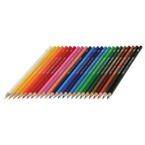 Brevilliers Cretacolor Farbstifte, 24 Stück