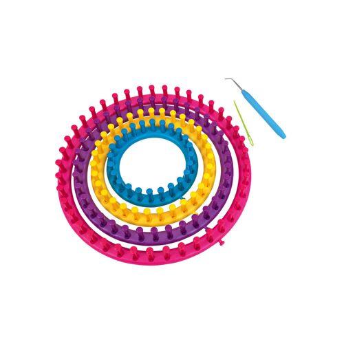 Playbox Strickringe, 4er-Set