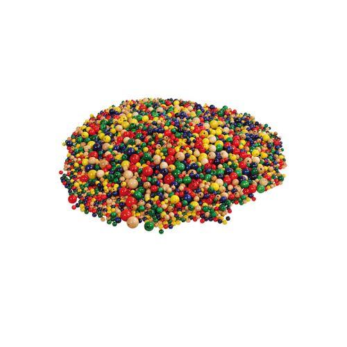 prohobb Großes Holzperlen-Set mit 3400 Perlen