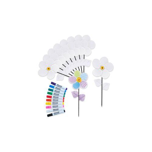 Betzold Bastel-Set Windrad-Blumen