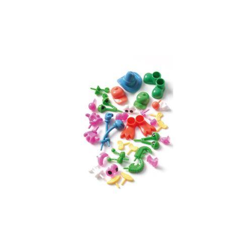 Creall Lustige Knetkörperteile