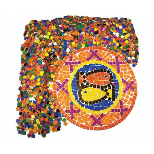 Roylco 10.000 quadratische Papier-Mosaik-Plättchen