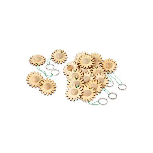 Sunnysue Schlüsselanhänger Blume, 24 Stück