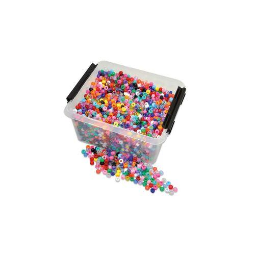 Playbox Kunststoff-Perlen in der Kiste
