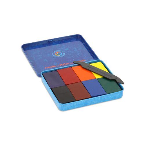 Stockmar 8 Farbblöcke Stockmar Wachsfarben