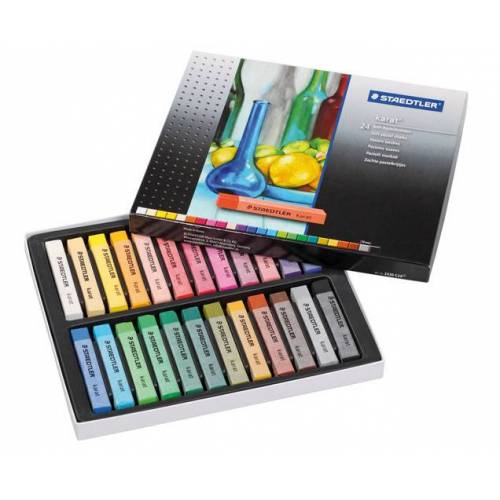 Staedtler Soft-Pastellkreiden karat, 24 Farben