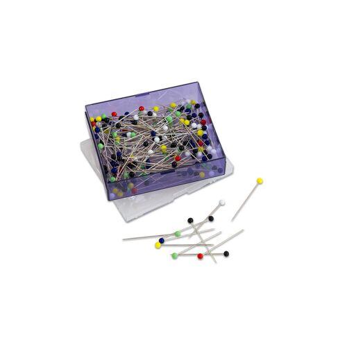 Prym Stecknadeln mit farbigen Glasköpfen