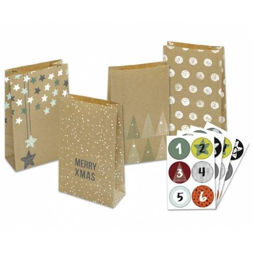 Folia Adventskalender-Set