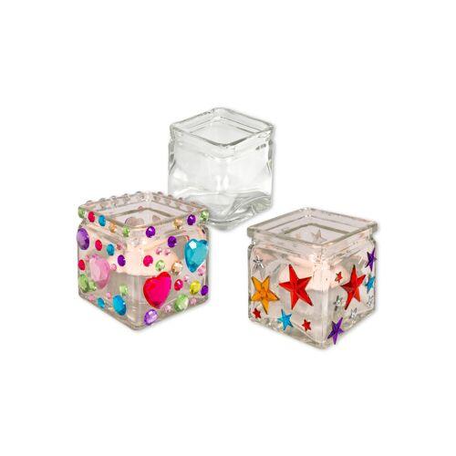 Betzold Windlichter-Set aus Glas, 12 Stück