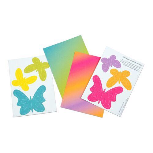 Betzold Prickelmobile Schmetterlinge, 10 Stück