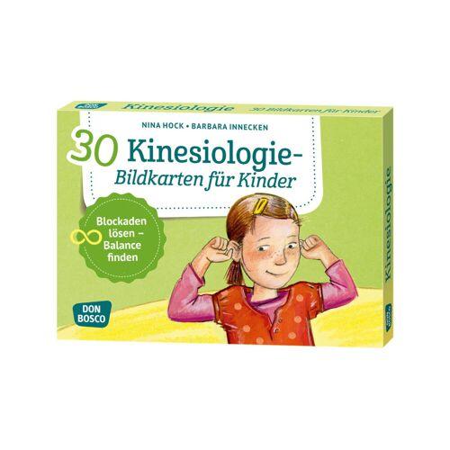 Don Bosco Kinesiologie - 30 Bildkarten für Kinder