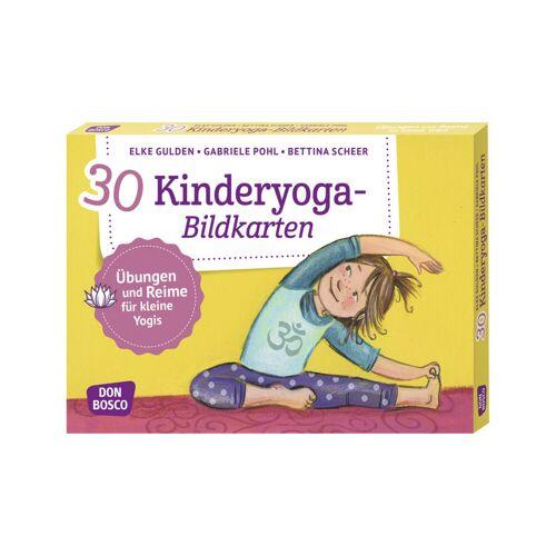 Don Bosco Kinderyoga - 30 Bildkarten für Kinder