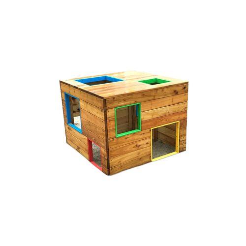 Baumann + Trapp Spielhaus Würfel