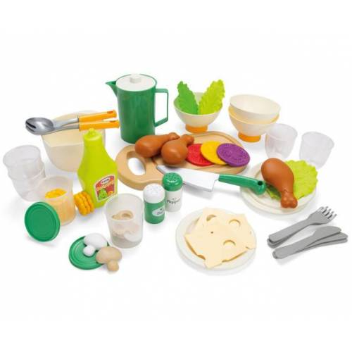 Dantoy Geschirr- und Essensset, 53 Teile