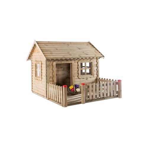 Betzold Spielhaus Lucas mit Veranda