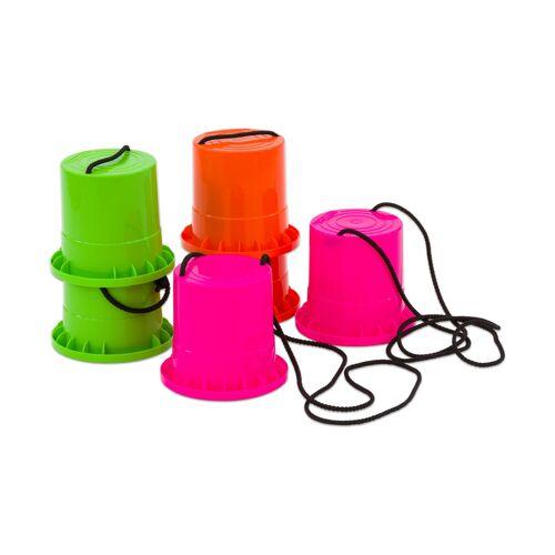 Betzold-Sport Betzold Sport Laufstelzen, 3er-Set (pink, orange, grün)
