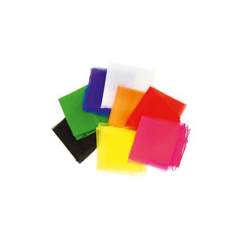 Betzold-Sport 5 Jongliertücher 65 x 65 cm, in einer Farbe