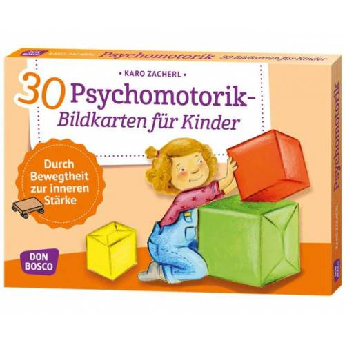 Don Bosco Psychomotorik - 30 Bildkarten für Kinder
