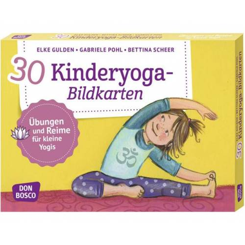 Don Bosco Kinderyoga - 30 Bildkarten für Kinder