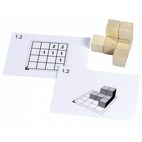 Betzold Cubo Kartensätze 1 - 5 (ohne Holzwürfel)