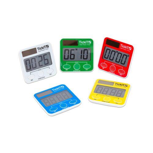 TickIt Dual Power Timer, Set mit 5 Stück