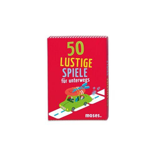 Moses 50 lustige Spiele für unterwegs