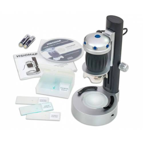 Betzold Handmikroskop mit LED Stand
