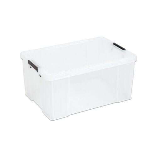 Allstore Aufbewahrungsbox mit Deckel 5,5-85 l AllStore, stapelbar