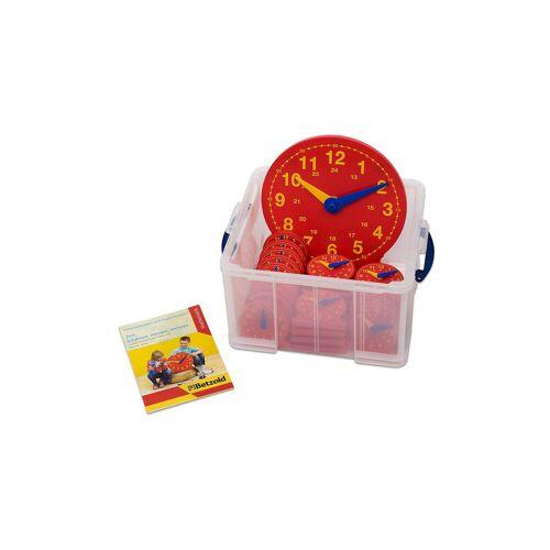 Betzold Schüler-Uhr Klassensatz mit 1 Lehreruhr und 25 Schüleruhren