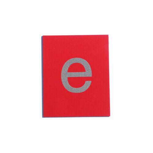 Betzold Fühl- und Tastplatten, Kleinbuchstaben