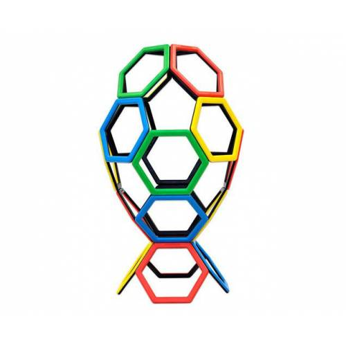 Polydron Magnetic Polydron - Sechsecke