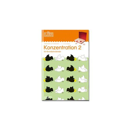 LÜK Konzentration, 1.- 4. Klasse