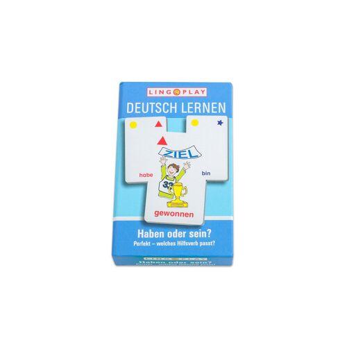 Lingo Play Deutsch lernen - Perfekt - welches Hilfsverb passt?