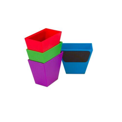 Learning Resources Magnetische Aufbewahrungsboxen, Set mit 4 Stück, bunt