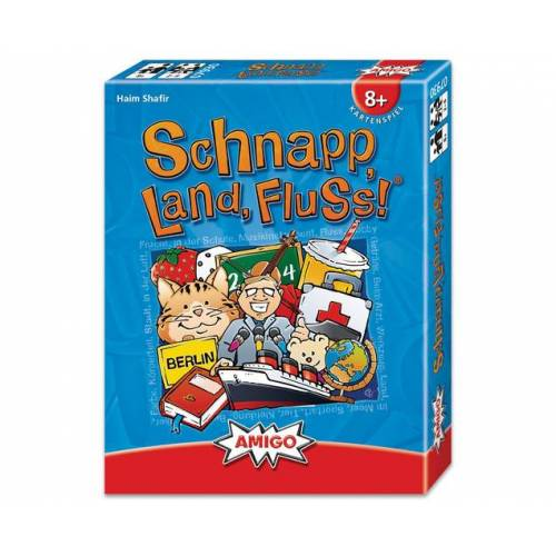 Amigo Schnapp, Land, Fluss! - Kartenspiel