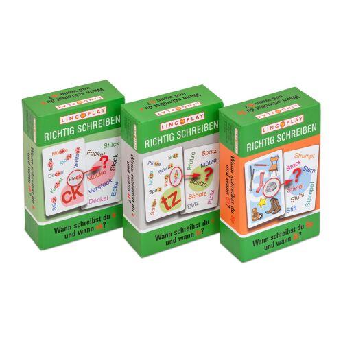 Lingo Play Wann schreibst du...? - 3 Lernspiele im Paket