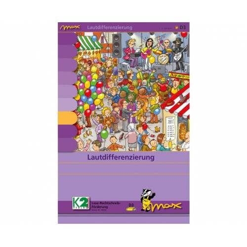 max Lernsystem Max Lernkarten Lautdifferenzierung