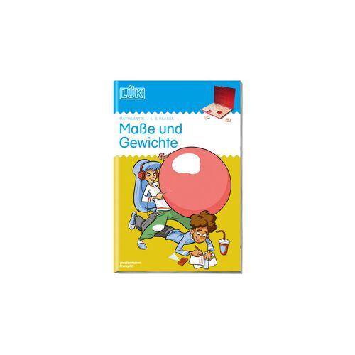 LÜK Maße und Gewichte, 4.- 6. Klasse