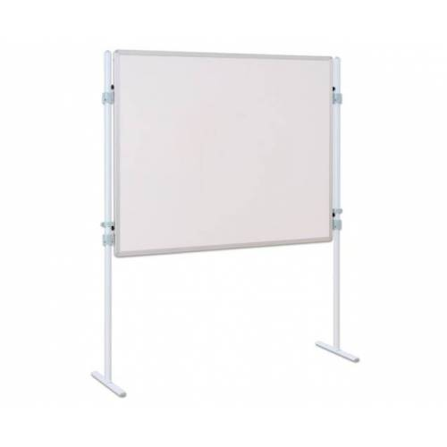 Betzold Trennwand-Tafel, Whiteboard, mit 2 Stativen