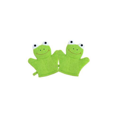 Betzold Waschhandschuh Frosch, 2er-Set