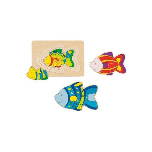 """goki Schichtpuzzle """"Fisch"""""""