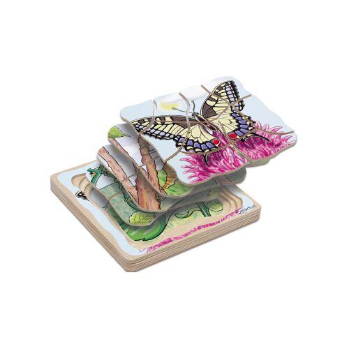 "beleduc Lagenpuzzle ""Schmetterling"""