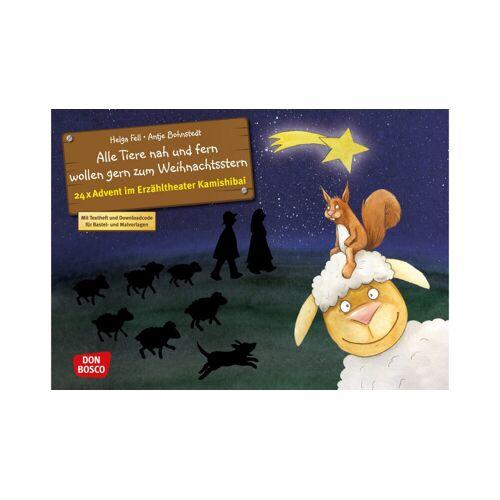 Don Bosco Alle Tiere nah und fern. Kamishibai-Bildkartenset