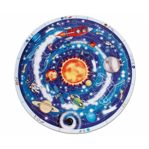 beleduc XXL-Lernpuzzle Planeten
