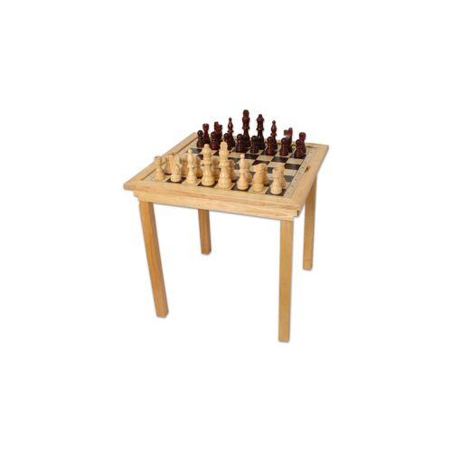 Bartl Spieltisch Maxi Schach, Dame und Ludo