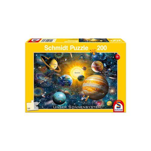 "Schmidt Spiele Puzzle ""Unser Sonnensystem"", 200 Teile"