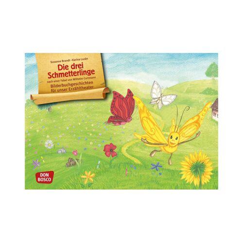 Don Bosco Bildkarten: Die drei Schmetterlinge