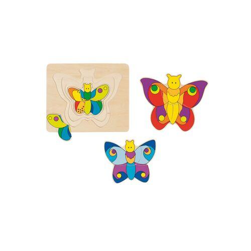 """goki Schichtpuzzle """"Schmetterling"""""""