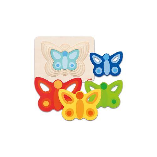 """goki Schichtenpuzzle """"Schmetterling ll"""""""